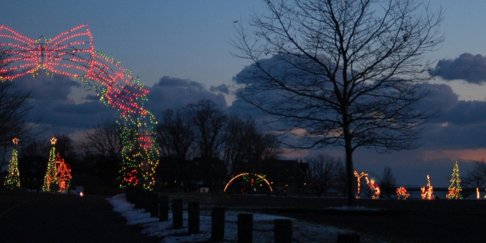 Get in the holiday spirit with Goodwill of Southern New England's Fantasy of Lights!