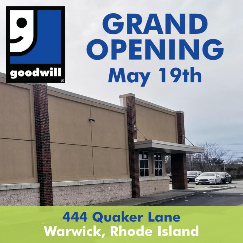 Grand opening – May 19th